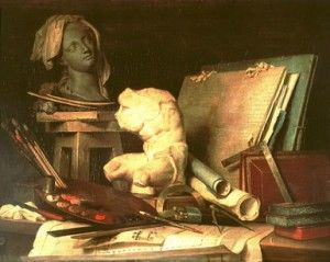 Arte, música, pintura, personajes.