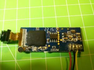 Conexiones cámara Tres cables, positivo, negativo y señal.