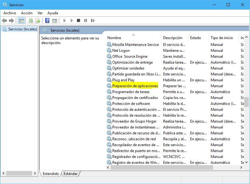 AppReadiness - Preparación de aplicaciones en servicios desde consola de herramientas administrativas (problema pantalla negra)